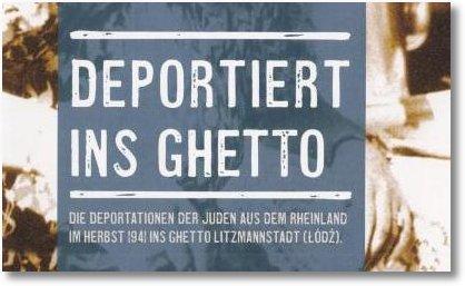 Titel Ausst Ghetto Litzmannstadt